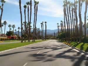 Street in Palm Desert